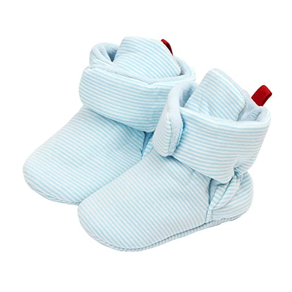 Non-Slip Baby Infants Cotton Socks 0-6 Months, Khaki TINGO Baby Socks Unisex Toddler Anti-Skid Warm Baby Socks for 0-18 Months Newborn Baby Boys and Girls