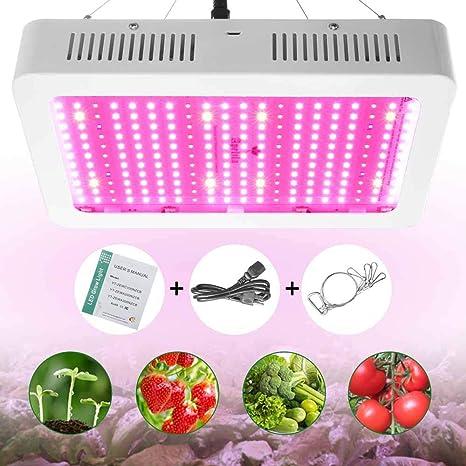LED Grow Light 8000W//2000W Full Spectrum Hydroponic Plant Veg Bloom Flower Lamp1