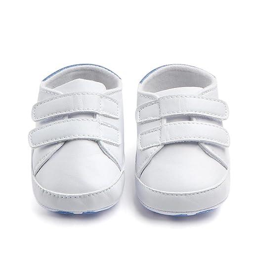 84d867345 Zapatos Bebé Primeros Pasos ❤ Amlaiworld Infantil Bebé Niña Niño Zapatos de  Cuna de Suela Blanda Sneaker Zapatilla de Prewalker Recién Nacido Zapatilla  ...