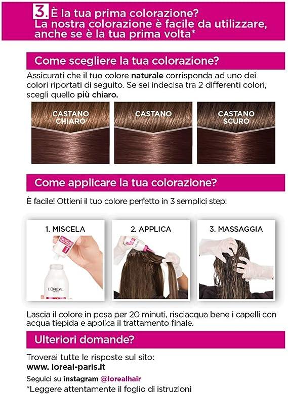 LOréal Paris Casting Creme Gloss, tratamiento colorante para el cabello, sin amoniaco para una fragancia agradable. Marron Chocolat 515
