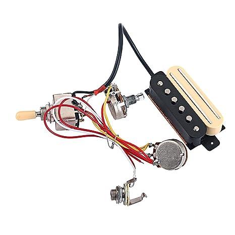 Recolección Humbucker De Cobre Con Interruptor Selector De Pastilla Para Guitarra Eléctrica/Caja De Cigarros