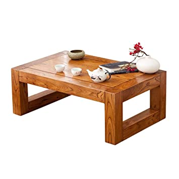 Amazon.com: Home warehouse Solid Wood Bay Window Table ...
