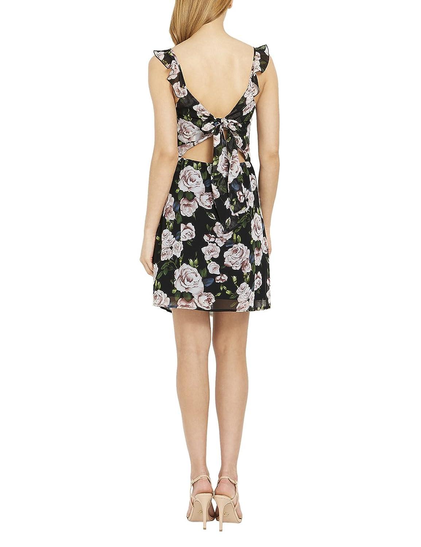 Lipsy Damen Trägerkleid Blumendruck Ärmellos Kleid Normale Passform:  Amazon.de: Bekleidung