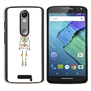 Planetar® (Esqueleto anatomía Médico)  Motorola Droid Turbo 2 / Moto X Force Fundas Cover Cubre Hard Case Cover: Amazon.es: Electrónica
