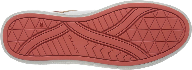 GANT Avona Sneakers voor dames wit (br.wht./br. Coral G285)