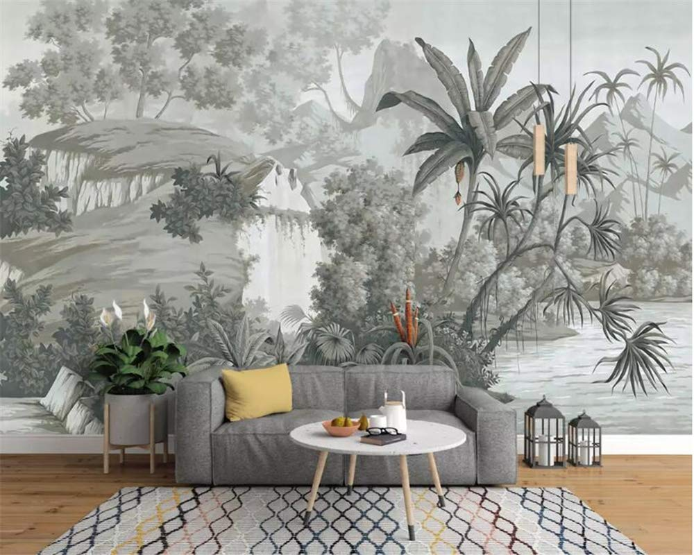 Amazon Bzdhwwh 3d壁紙 大型 ヨーロッパ 手描き レインフォレスト