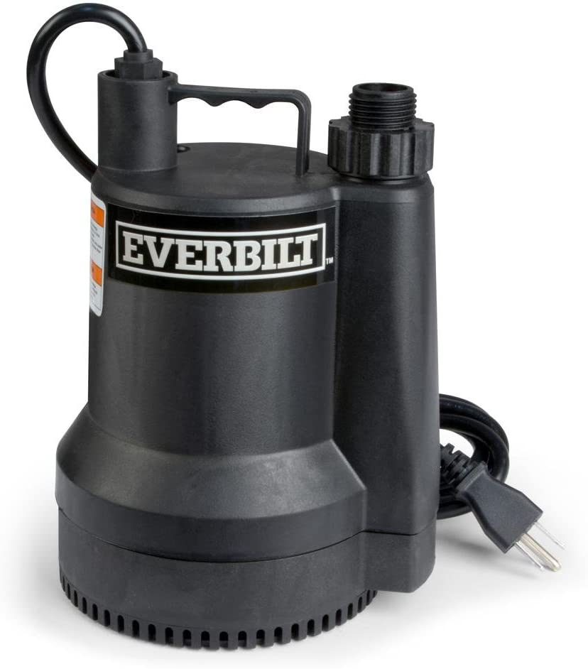 Everbilt SUP54-HD 1/6 HP Plastic Utility Pump