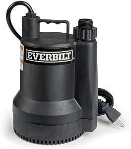 Everbilt SUP54-HD 1/6 HP Plastic Utility Pump