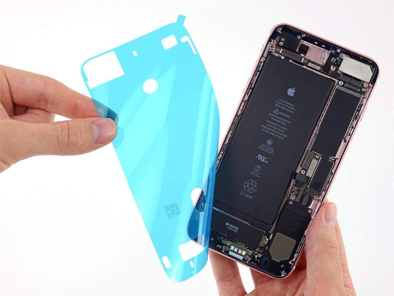 Amazon Com Screen Adhesive Strips Pre Cut Waterproof Seals For Iphone 6 6s Gvkvgih Water Liquid Damage Repair Adhesive Replacement 2pack For Iphone 6 6s