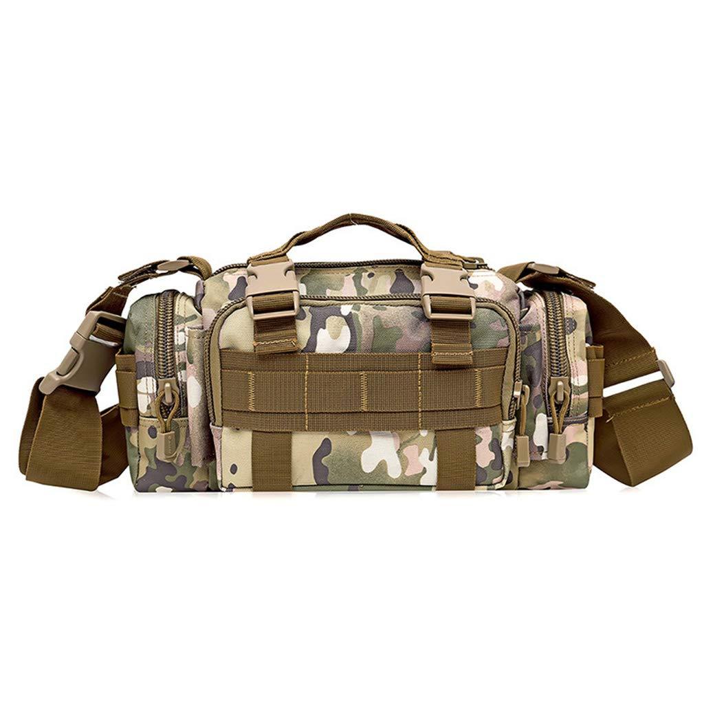 D Tactical Package, Outdoor Pocket Tactical Chest Bag Waist Bag Messenger Bag