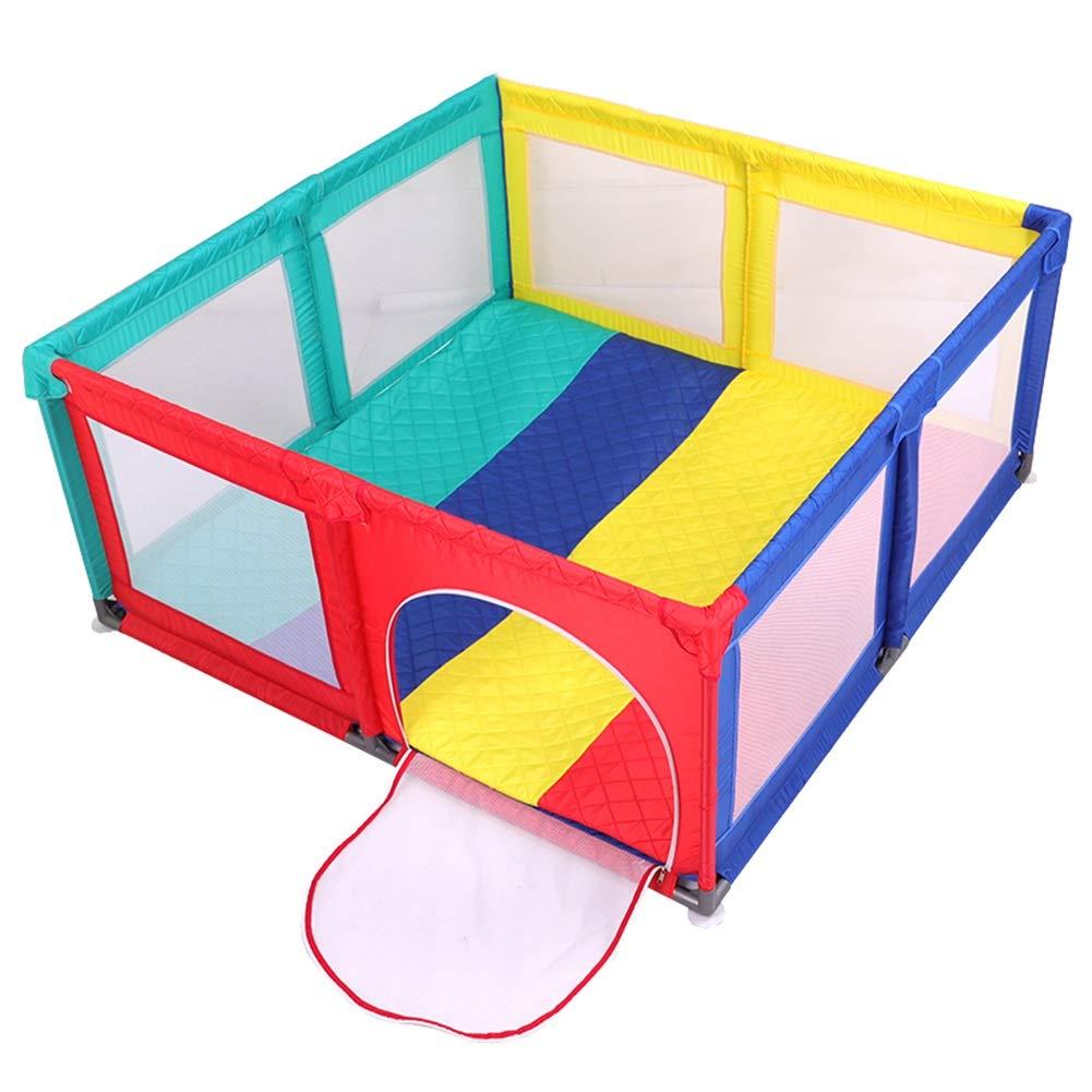 【激安アウトレット!】 ベビーサークル, クロールマットが付いている携帯用赤ん坊の演劇場 B07PFDCDXK、幼児のための屋内屋外安全プレイフェンス (色 (色 : Colored) Colored) Colored B07PFDCDXK, プリズム:717306e9 --- a0267596.xsph.ru