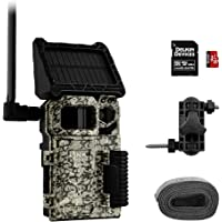 SPYPOINT Link-Micro-S Value Pack Solar Cellular Trail Camera with 80-Foot Detection and Flash Range LTE-Capable Cellular…