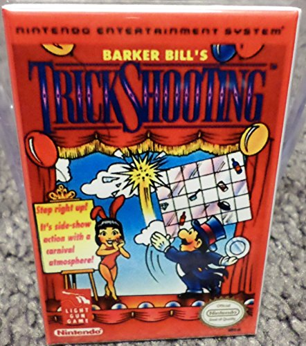 Trick Shooting Nintendo NES Vintage Game Box 2