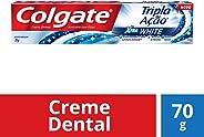 Creme Dental Colgate Tripla Ação Xtra White 70g