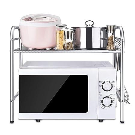 & escurreplatos de cocina Estante de cocina Estante de microondas ...