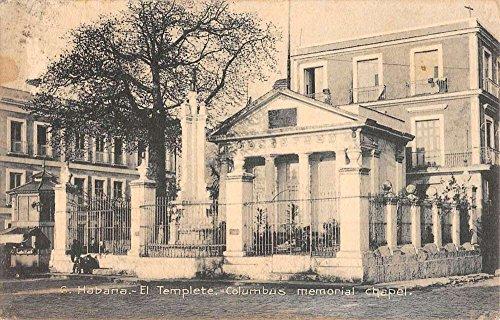 Havana Cuba Columbus Memorial Chapel Historic Bldgs Antique Postcard K51155