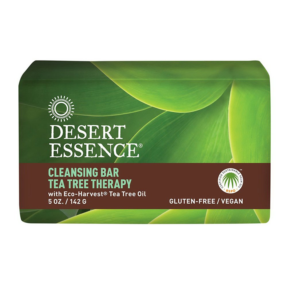 Desert Essence Bar Soap, Tea Tree Therapy, 5 Ounce 1210NDE-A