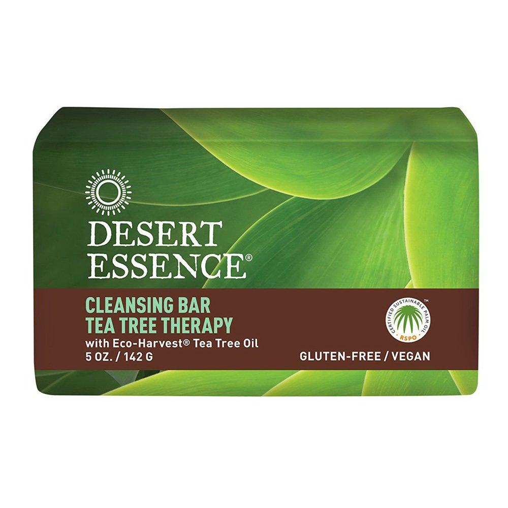 Desert Essence Bar Soap, Tea Tree Therapy, 5 Ounce 1210NDE-A