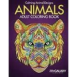 Animals: Adult Coloring Book: Calming Animal Designs