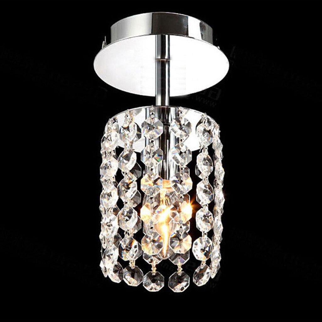 Indoor Lighting Modern K9 Crystal Chandelier, Living Room Bedroom Restaurant Crystal Lamp, Ceiling Lighting (Size : X40w)