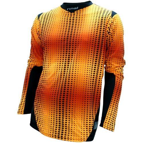 Long Sleeve Goalkeeper Training Jersey (Rinat Jaguar Gk Jersey Neon Orange As)