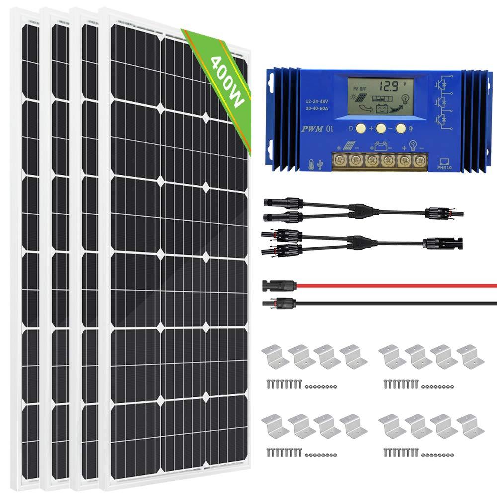 ECO WORTHY Monocrystalline Solar Kit 200 Watts
