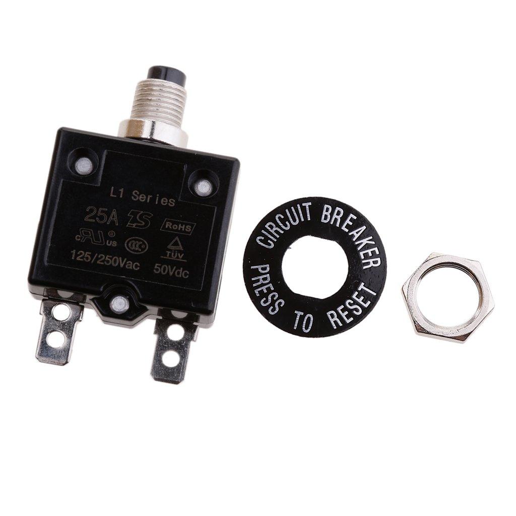 30A perfk 20A//25A//30A//35A Sicherungshalter Auto Leistungsschalter Automatiksicherungshalter