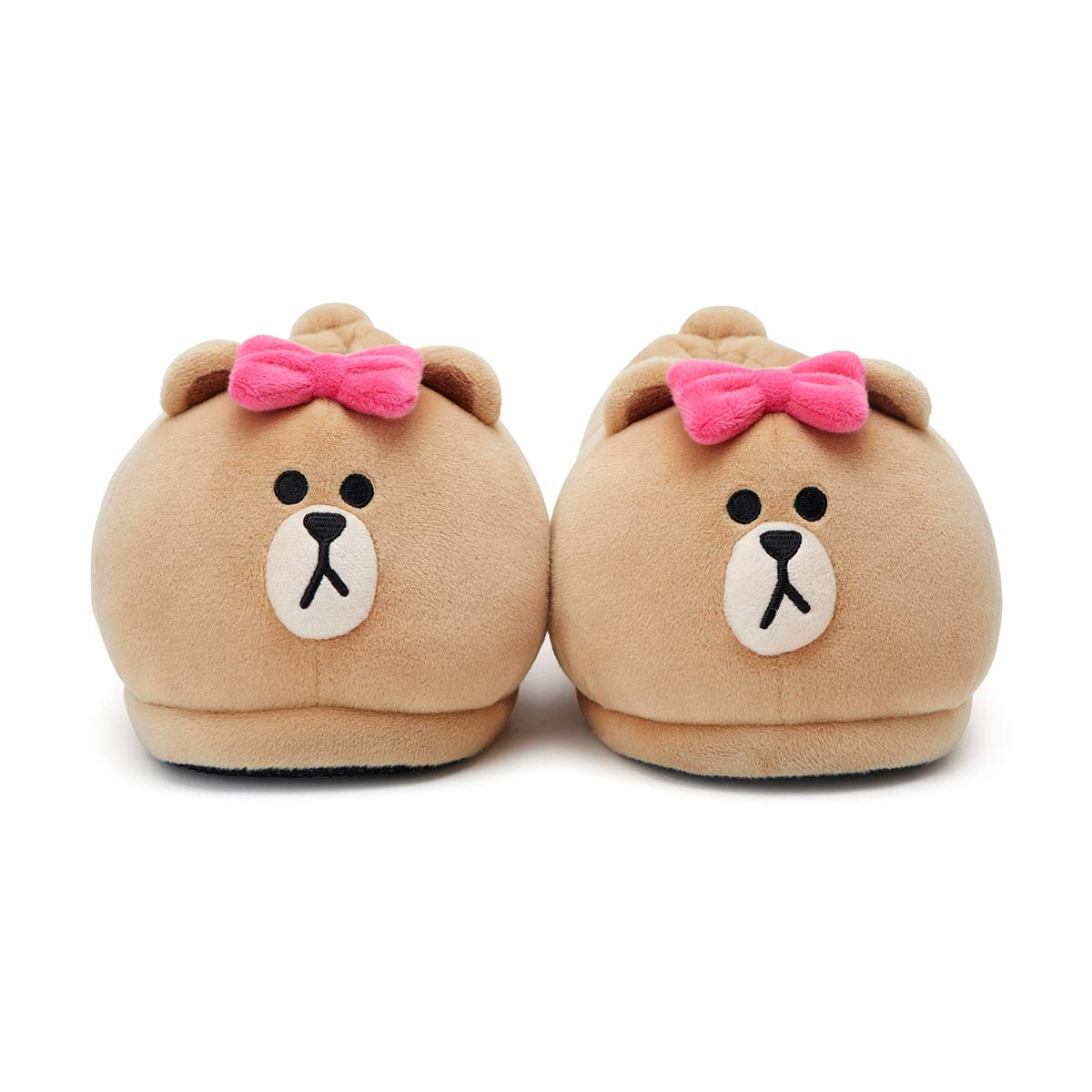 Parent LINE FRIENDS Indoor Slippers Character Plush House Shoes for Women