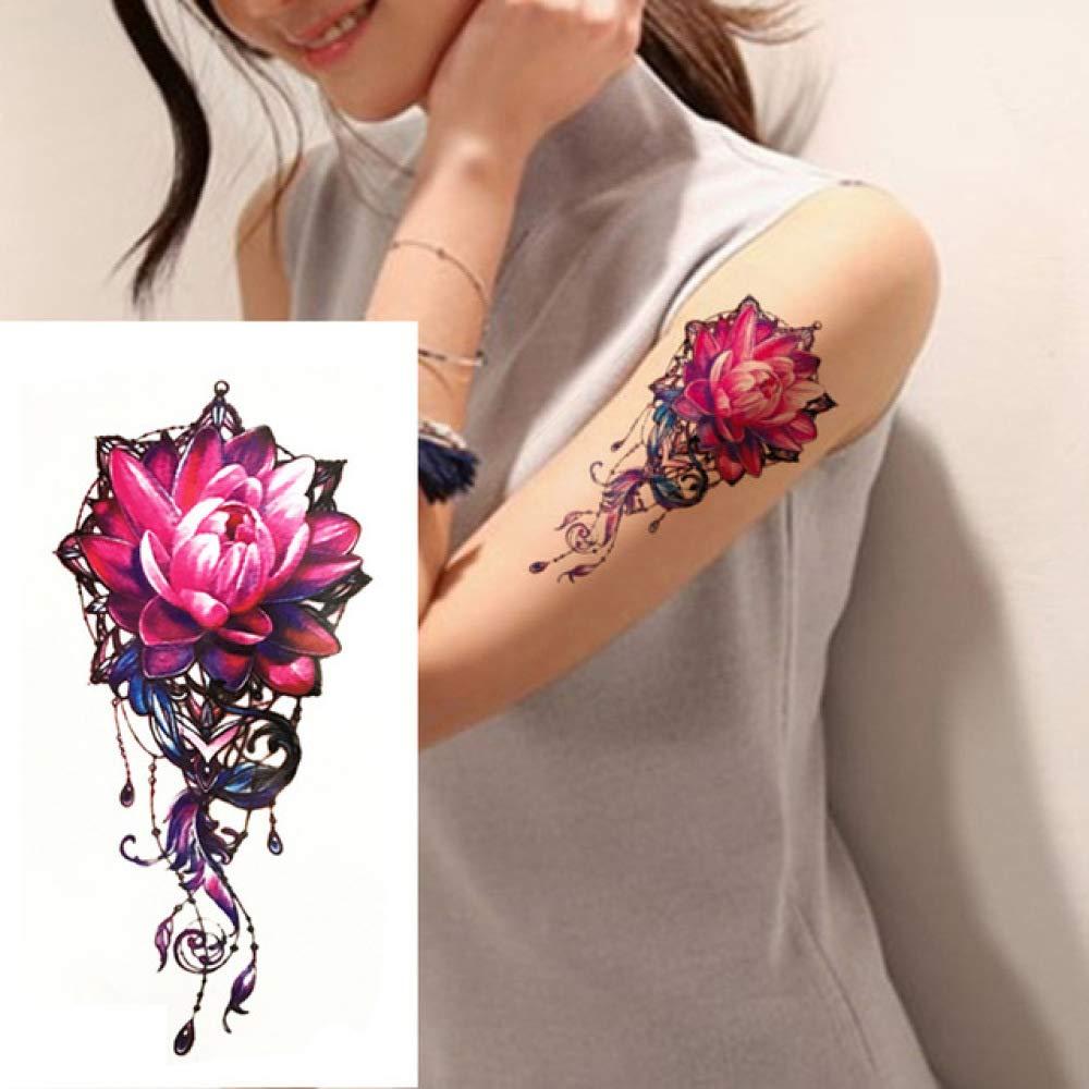 Handaxian 3pcs pequeña Flor Completa del Brazo Pegatina Tatuaje ...