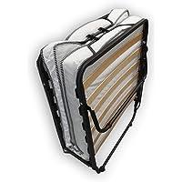 Alanpur® Cama plegable: 80 x 190 cm, cama de invitados con colchón, cama plegable con…
