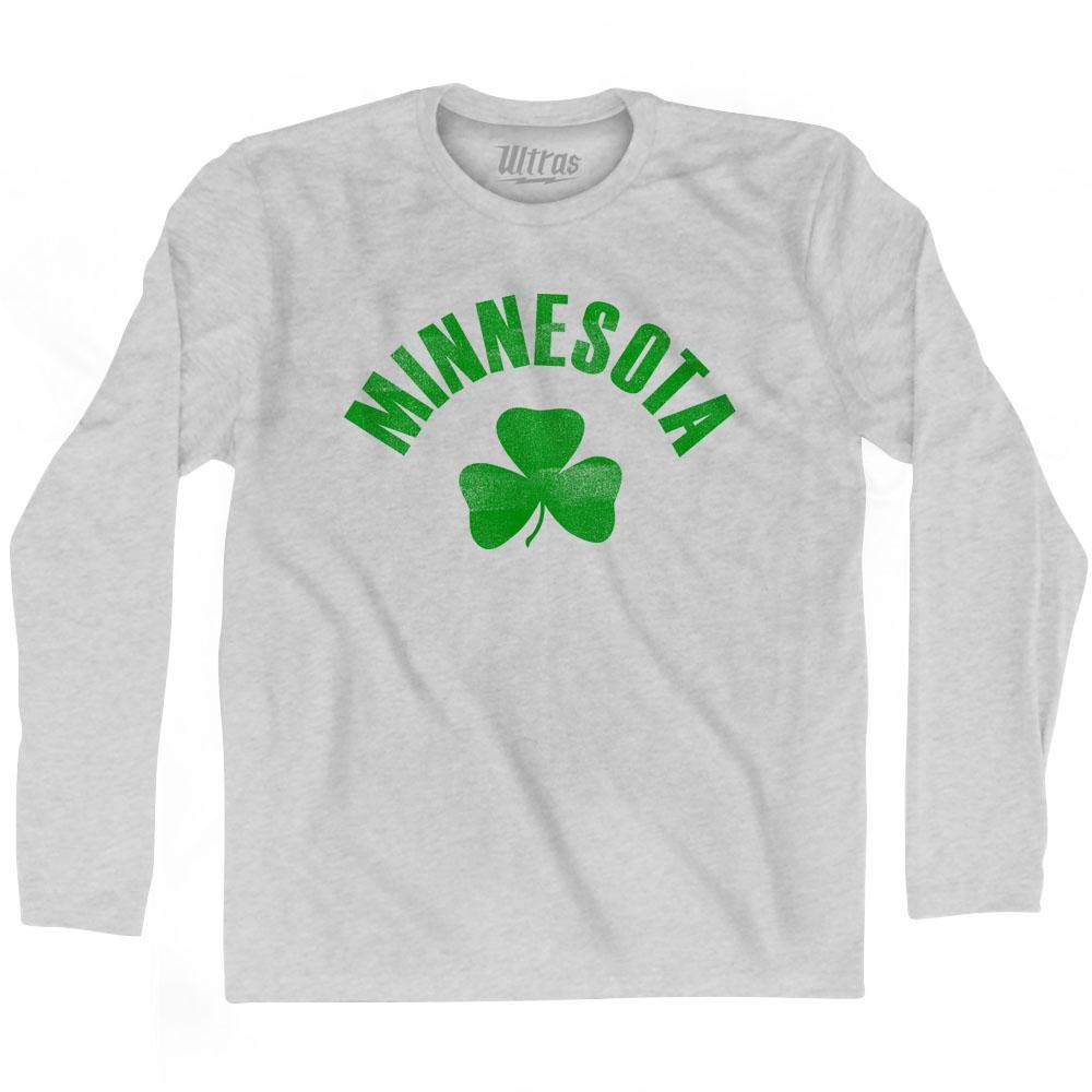 Ultras Minnesota State Shamrock Cotton Long Sleeve T-Shirt