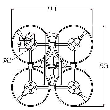 Eachine Aurora 68 68mm Mini 5 8g 600tvl Fpv Racing Drone Bnf With F3