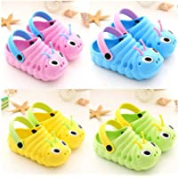 Toddler Little Kids Clogs Slippers Sandals, Non-Slip Girls Boys Clogs Slide Garden Shoes Beach Pool Shower Slippers