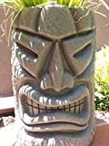 Angry Tiki Planter NEW COLOR (Granite Green)