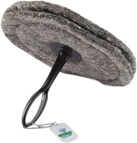 Anti-Courants dair pour chemin/ée au lain de mouton 33cm x 33cm