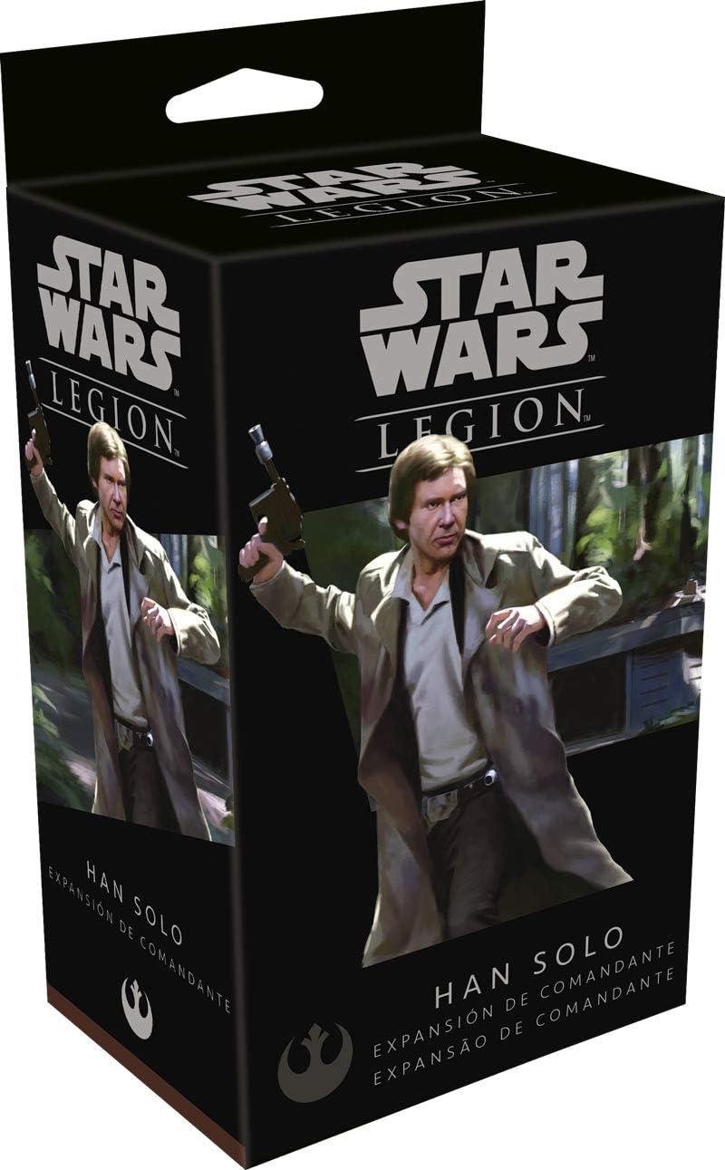 Fantasy Flight Games- Star Wars Legion: Han Solo - Español, Multicolor (FFSWL20): Amazon.es: Juguetes y juegos
