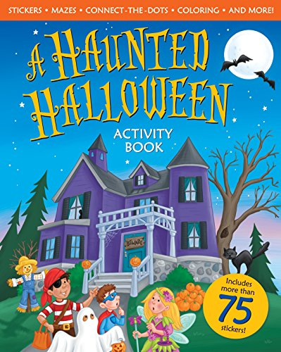 A Haunted Halloween Activity Book
