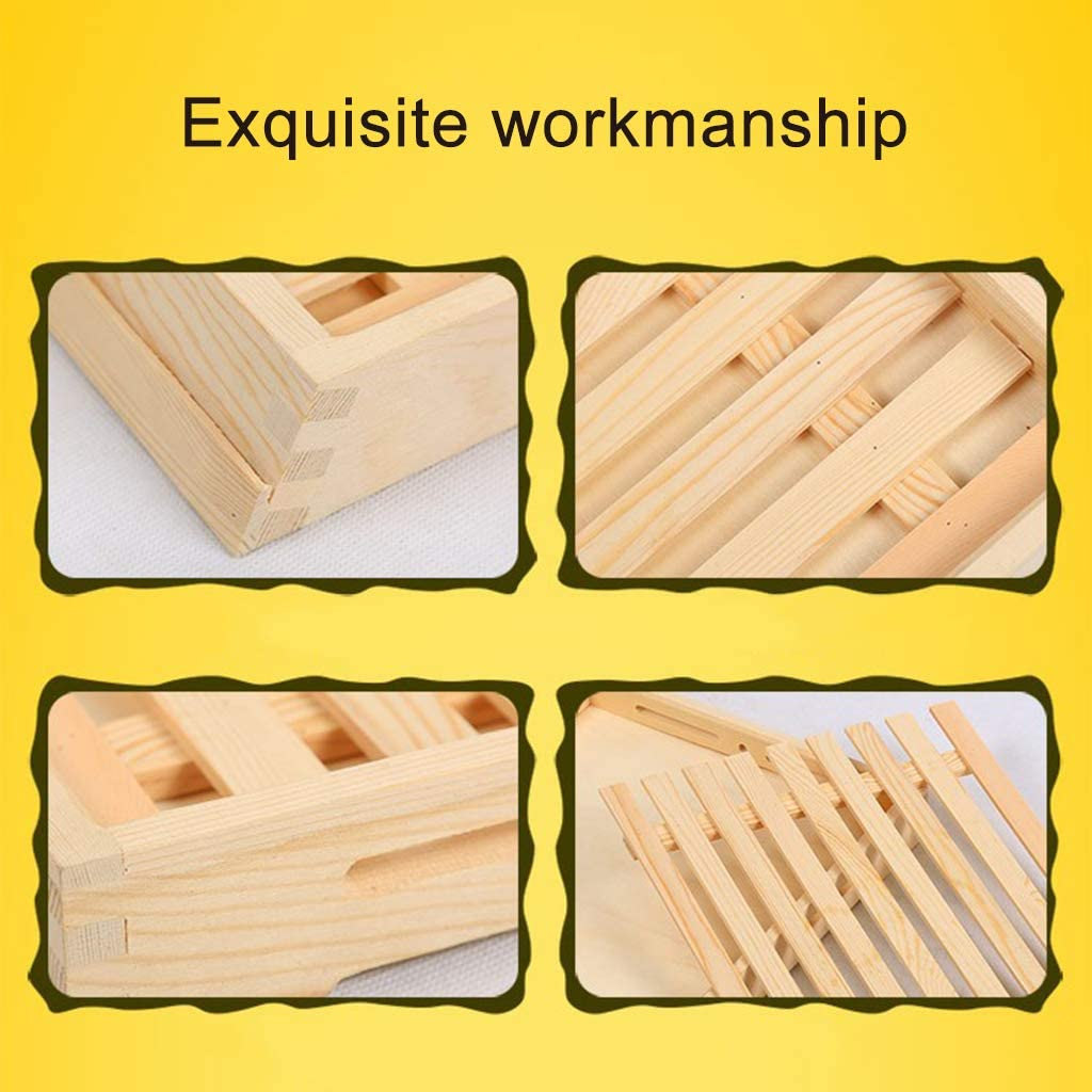 TP Wooden Pallet Mini Pallet Right Angle//Bevel Style Wood Clear Wood Grain Environmentally Friendly Paint Clear and Beautiful Wood Grain Bakery Delicatessen