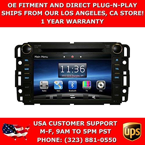 OttoNavi GM0712AC-KZKSNBXX GMC Acadia 07-12 In Dash OEM Replacement Multimedia K-Series GPS Navigation Car Radio
