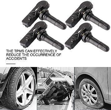 4 pcs Alloy TPMS Tire Pressure Monitoring System Tire Valve for Dodge Jeep Chrysler Mitsubishi Suzuki Mercedes-Benz