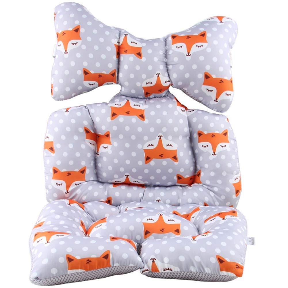 Fox Type Fox Tipo paletur88 Asiento con Coj/ín C/álido Funda de Coj/ín Coche Silla de Paseo Colch/ón Silla Dibujos Animal Coj/ín Beb/é Algod/ón Grueso - como Imagen Espect/áculo