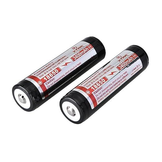 6 opinioni per XTAR 18650- batterie ricaricabili agli ioni di litio Panasonic, protetto,