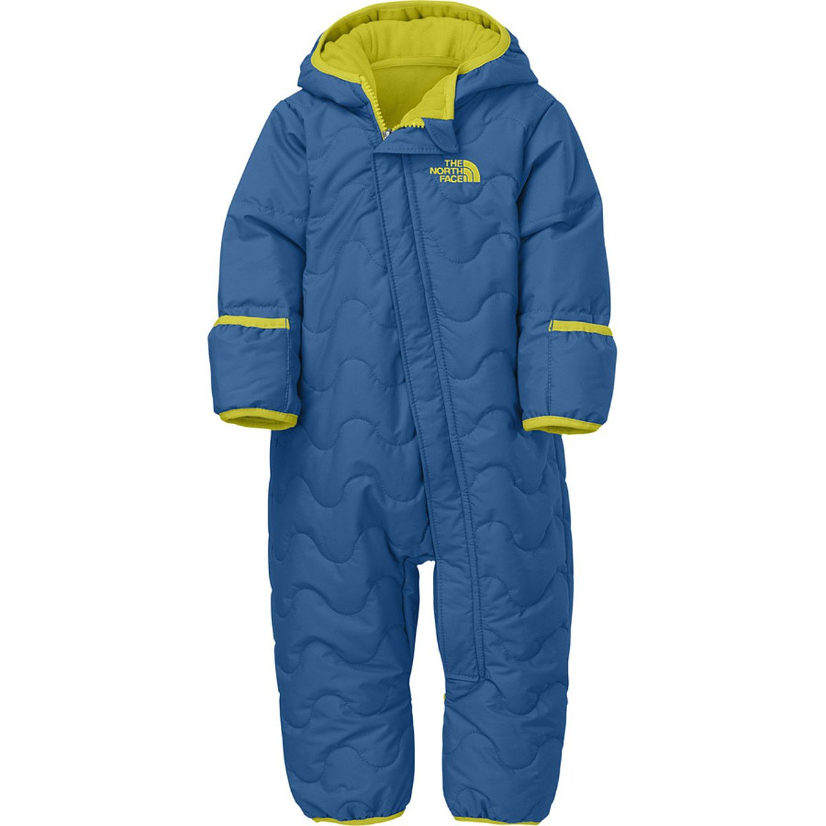 The North Face Infant Toasty Toes Bunting (24 month, Snorkel Blue) by The North Face (Image #1)