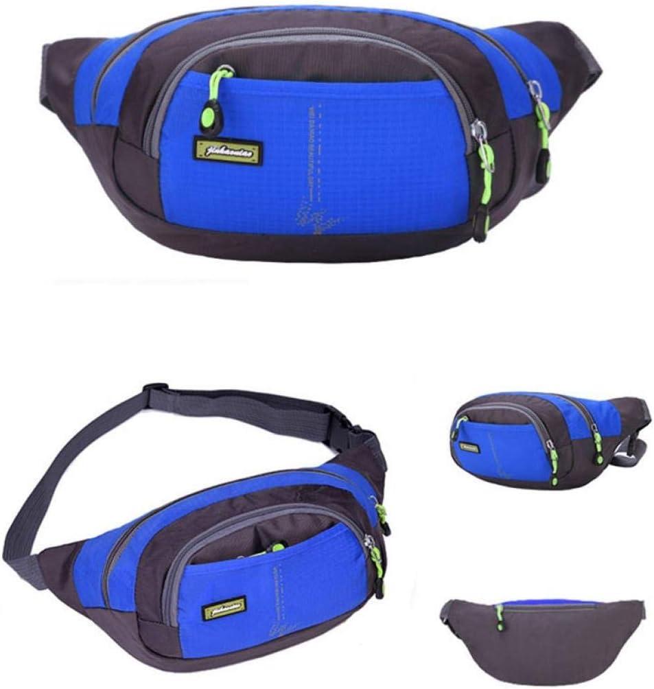 Hunputa Unisex Sports Running Waterproof Nylon Cross Body Shoulder Belt Chest Bag
