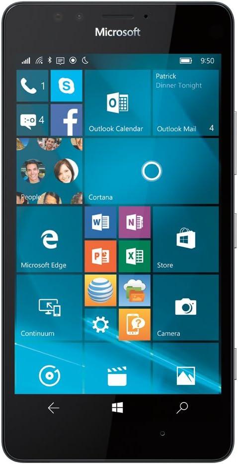 Microsoft Lumia 950 Windows 10 Smartphone 32GB GSM Unlocked - Black