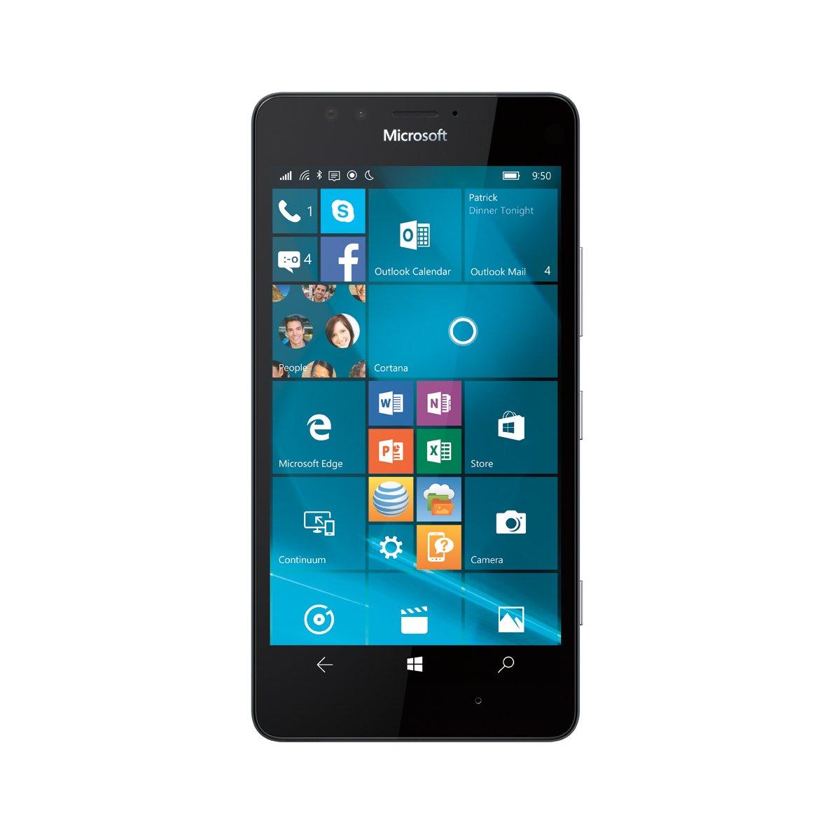Microsoft Lumia 950, Black 32GB (AT&T)