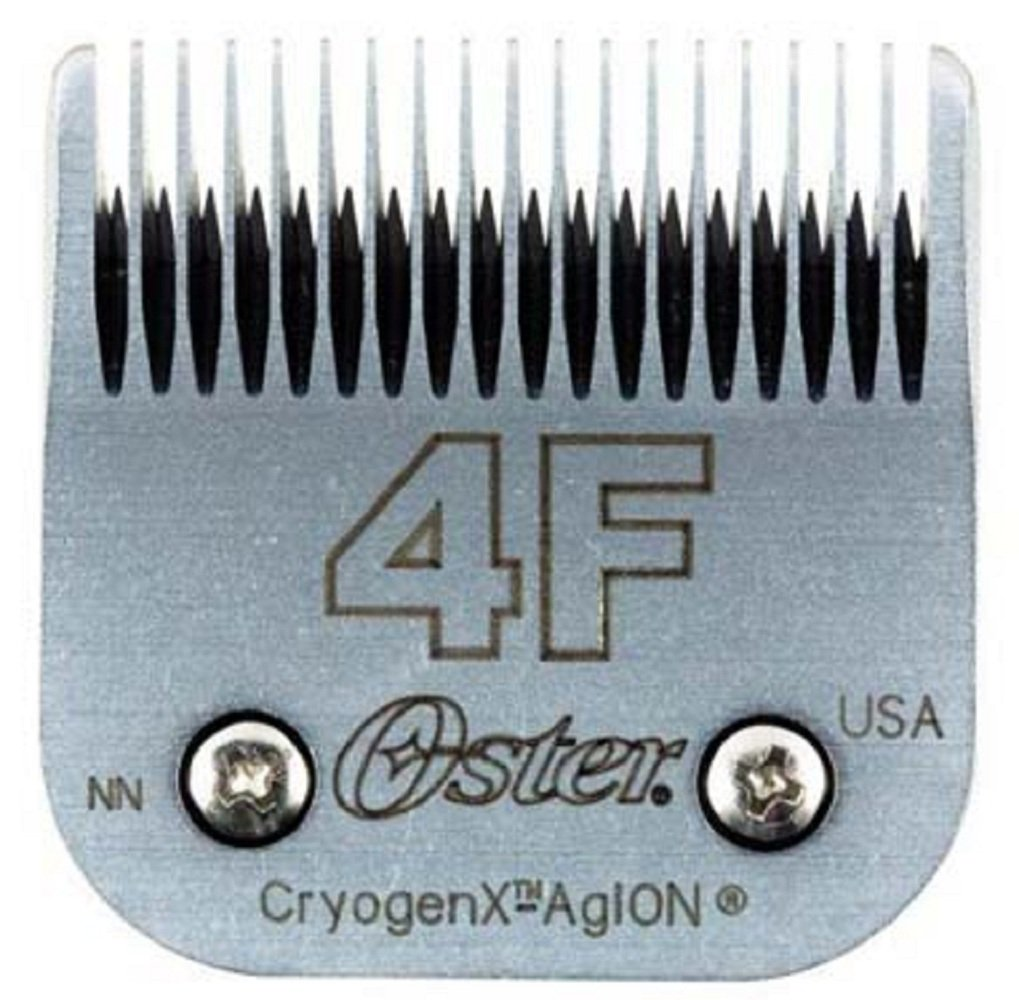 Oster Elite CryogenX Professional Animal Clipper Blade, Size # 4F