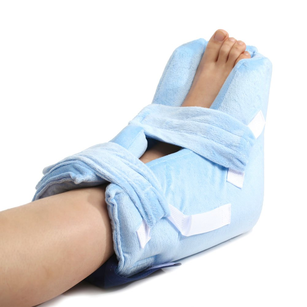 MediChoice Pressure-Relieving Heel Protector, Premium, with Gel Pack, Microfiber Fabric (Each of 1)