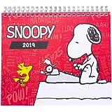 Grupo Erik Editores CS19011 - Calendario de sobremesa 2019 Snoopy, 17 x 20 cm