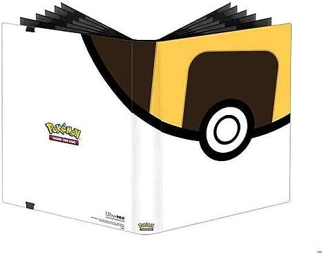 Red//W Ultra Pro E-85316 Ultra Pro-9-Pocket Premium PRO Binder-Pokemon Poke Ball